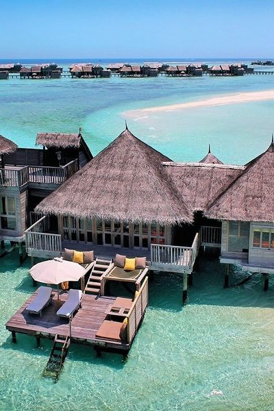 Take me here please. Gili Lankanfushi resort in the Maldives. Stunning.