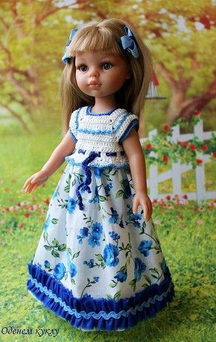 Хлопковые платья для Минуш и Паолочки / Одежда для кукол / Шопик. Продать купить куклу / Бэйбики. Куклы фото. Одежда для кукол