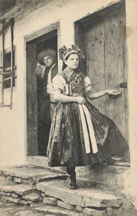 Pavol Socháň: Dievča v Špišskom Štvrtku 1895-1913, Slovakia