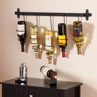 Shop for Harper Blvd Winston Wall Mount Wine Rack. Get free shipping at Overstock.com - Your Online Kitchen & Dining Outlet Store! Get 5% in rewards with Club O! - 16404245