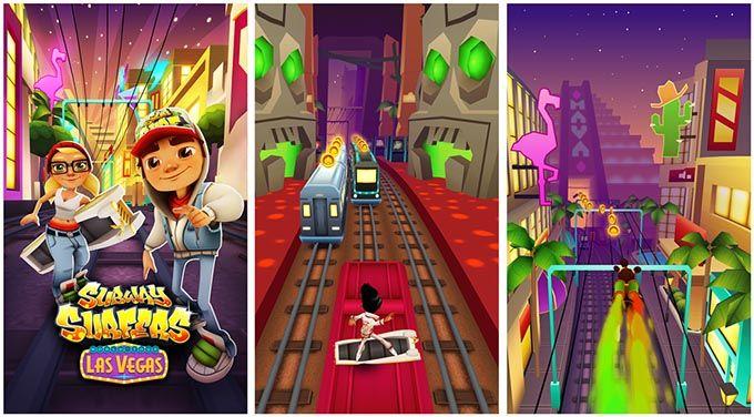 Subway Surfers per Windows Phone 8 si aggiorna e porta il tour a Las Vegas http://www.sapereweb.it/subway-surfers-per-windows-phone-8-si-aggiorna-e-porta-il-tour-a-las-vegas/        Subway Surfers è un popolare gioco mobile arrivato prima su iOS (totalizzando oltre 25 milioni di download), successivamente su Android e Windows Phone 8.  Questo particolarerunner game nella versione per Windows Phone 8 da pochi giorniha ricevuto un...