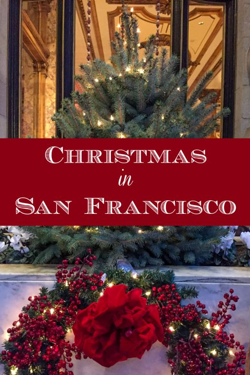 Christmas in San Francisco, California