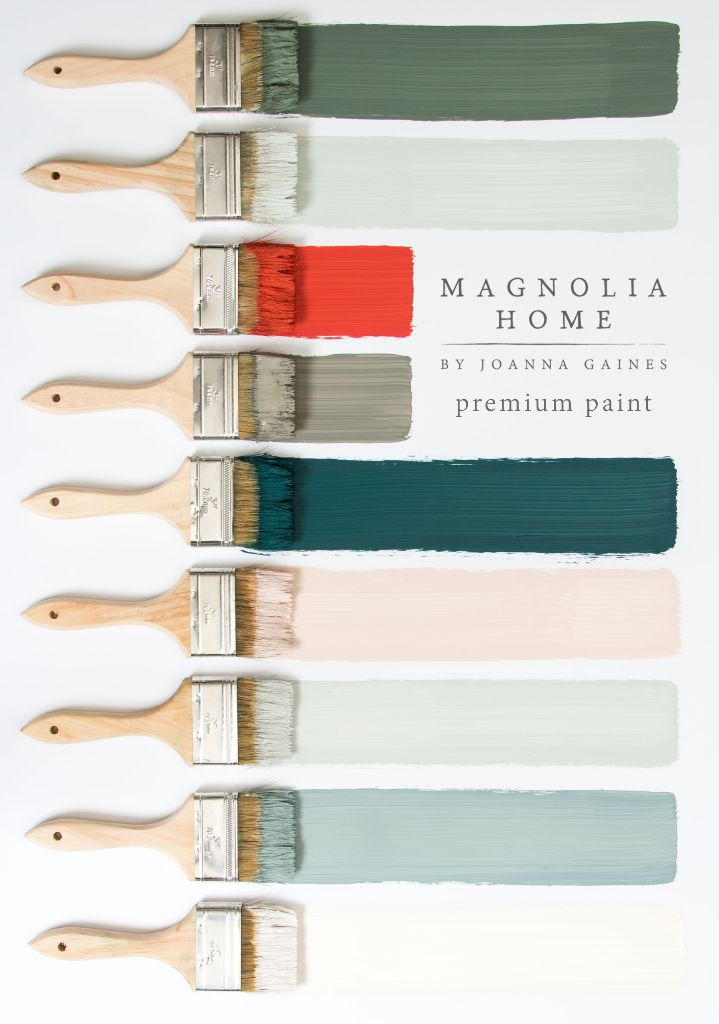 Magnolia Home Paint from Joanna Gaines.                                                                                                                                                     More