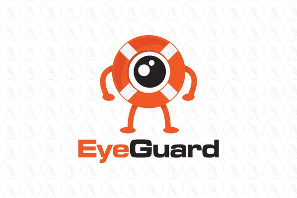 Eye Guard 250 Negotiable Http Www Stronglogos Com Product Eye Guard Logo Design Sale Eye Safe Ring Secur Spy Camera Charger Car Home Surveillance