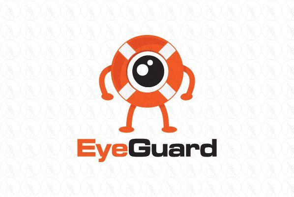 Eye Guard - $250 (negotiable) http://www.stronglogos.com/product/eye-guard #logo #design #sale #eye #safe #ring #security #camera #surveillance #web #technology