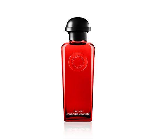 Eau de rhubarbe écarlate Hermes eau de cologne, bottle with pump, 3.3 fl. oz.