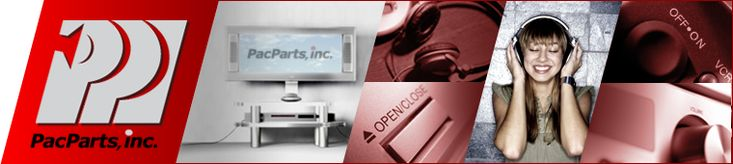 Consumer Electronic Parts and Accessories at PacParts, Inc.