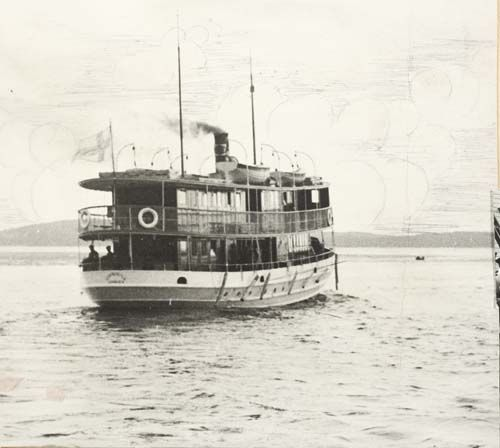 19.5.-38 Leppävirta II lähdössä tämän kevään ensimmäiselle matkalleen.