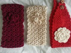 Crochet Headbands Ear warmers free patterns