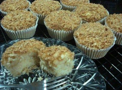 Muffins de coco sem glúten, sem leite e sem ovos   Alergia a leite
