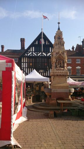 Can't beat the market towns in England on a sunny day