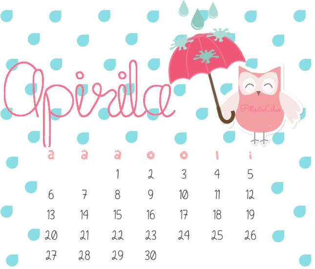 EUSKERA CALENDARIO IMPRIMIBLE Y FONDO PANTALLA... ABRIL 2015