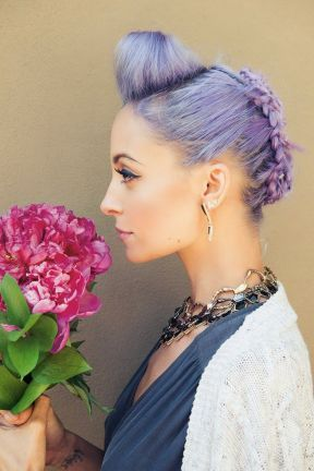 nicole richie hair by andy lecompte