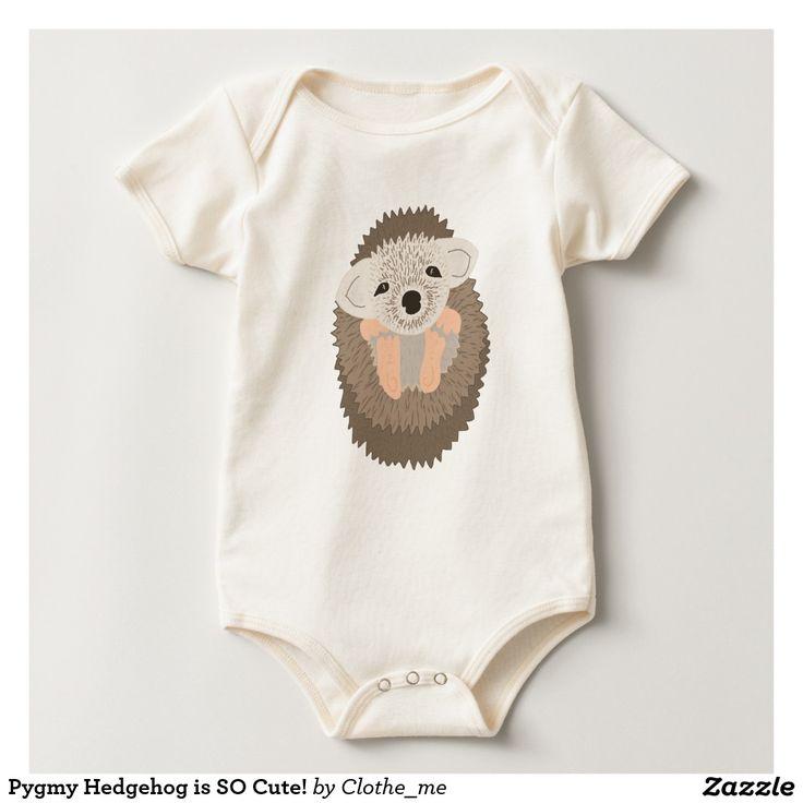 Pygmy Hedgehog is SO Cute! Bodysuit