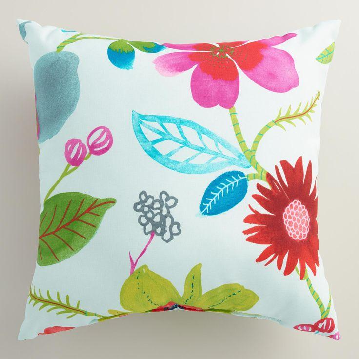 Ocean Bouquet Outdoor Throw Pillow