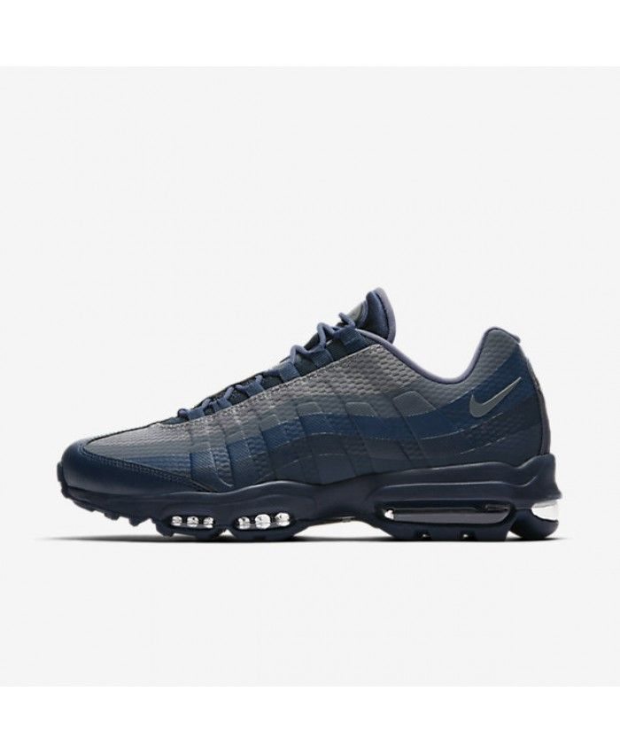 2a8cdd76d71 Cheap Nike Air Max 95 Mens Ultra Essential Armoury Navy Blue Fox Squadron  Blue