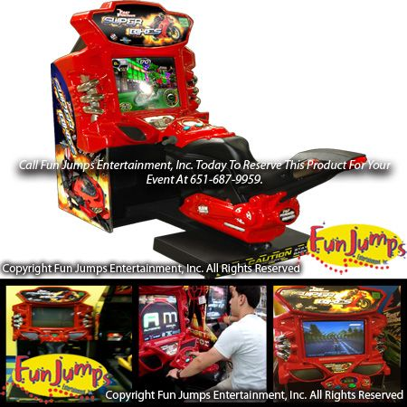 Super Bike Arcade Game Rental, Twin Cities Minneapolis Saint Paul Arcade And Pinball Games