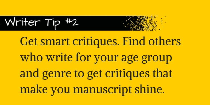 Get smart critiques on your writing. #writing