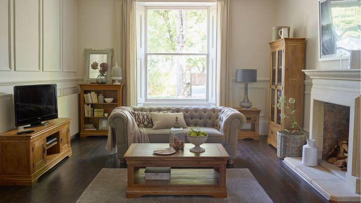 oak floors with dark brown furnitures - Yahoo Image Search Results