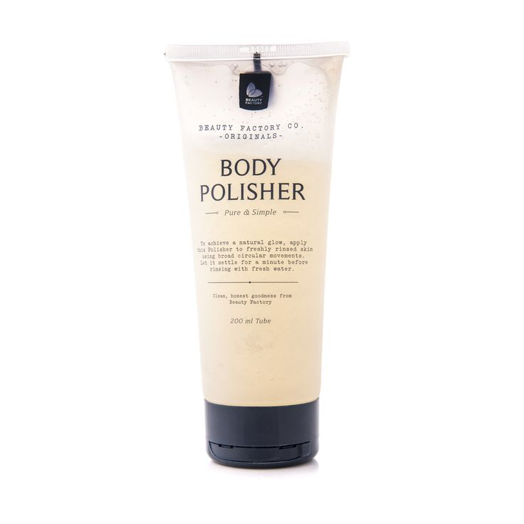 Originals Body Polisher 200ml -   PURE & SIMPLE  To achieve a natural glow, apply this Polisher to freshly rinsed skin using broad circular movements. Let it settle for a minute before rinsing with fresh water.GoodiesHub.com