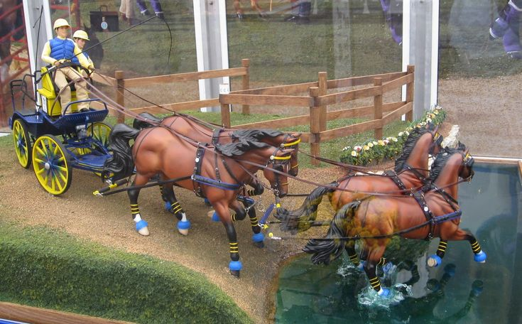 breyer horse realistic scenes | Some final, random WEG pictures