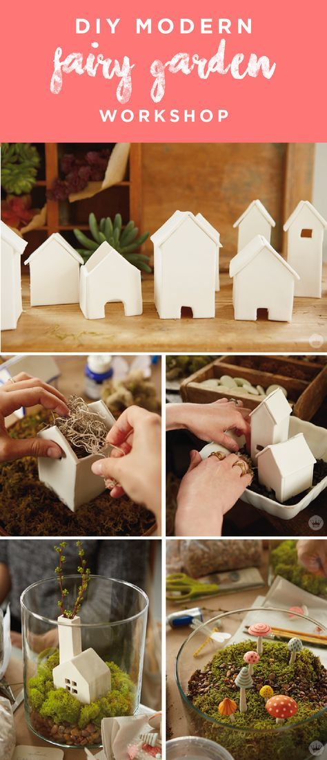 Welcome in summer by decorating your yard like a modern fairy garden. Think.Make.Share, a blog from the Creative Studios at Hallmark is sharing all the details from our magical workshop and plenty of fairy garden house ideas. It's a great project you and your kids can do together!