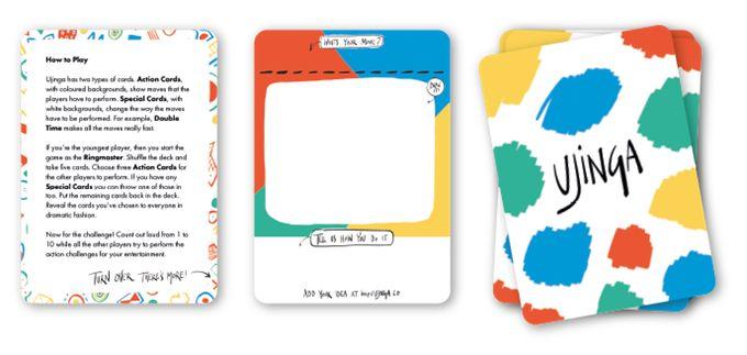 INSTRUCTION card & BLANK card