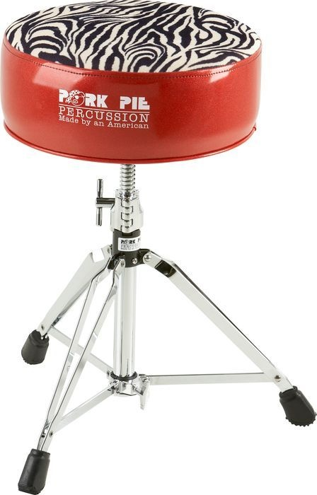 Pork Pie Round Drum Throne - I have the sparkly-edged version of this.  Both comfy and rad.