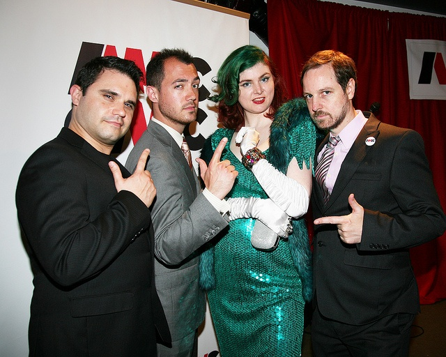 IWCC Launch Party. Me with my teammates on ASSET. Get your guns ready.  #iwcc #indie #webseries #redcarpet #glamour #vintage