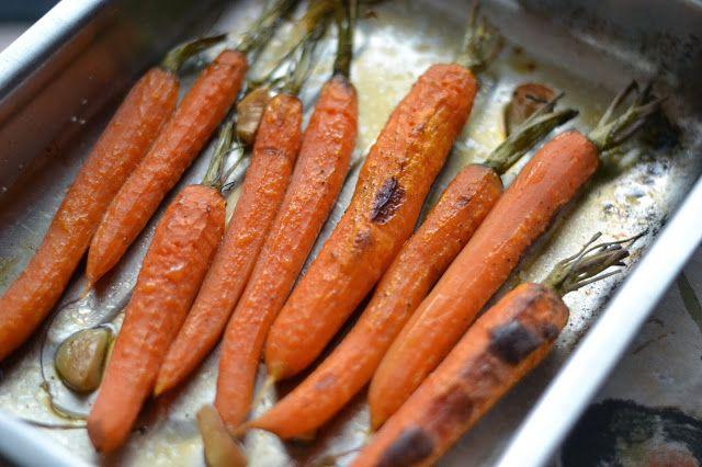 Když mám chuť......: ... upeču celé mrkve podle Jamieho Olivera