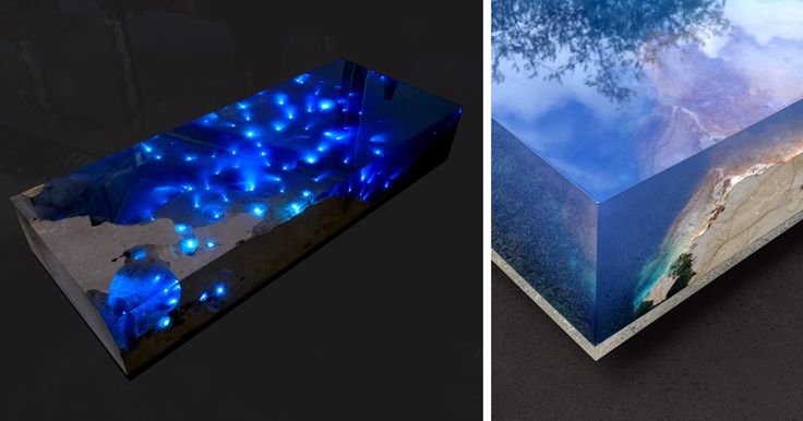 Starry Sea Table That I Created After 1.5 Years Of Research And Tests | Bored…
