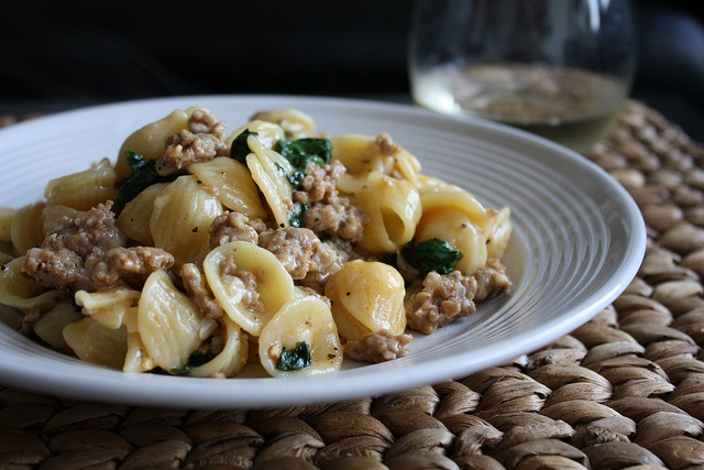 Orecchiette with Spicy Turkey Sausage and Broccoli Rabe