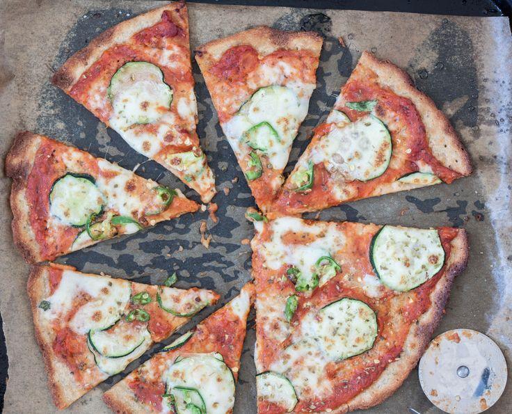 pizza na gryczanym spodzie