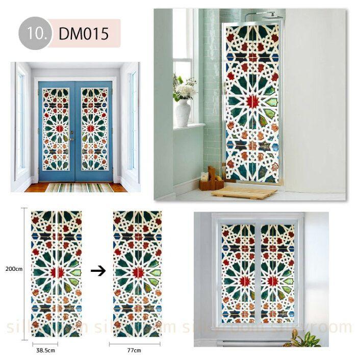 楽天市場 ドア専用デコレーション 58種類から選べる 貼ってはがせる