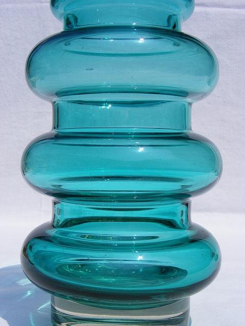 Riihimaki Art Glass Vase
