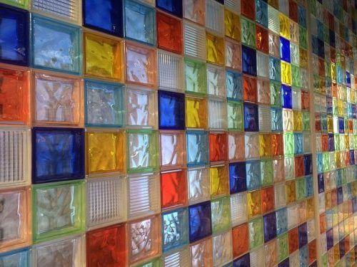 Forma poner ladrillos de vidrio para la casa pinterest - Ladrillos de cristal ...