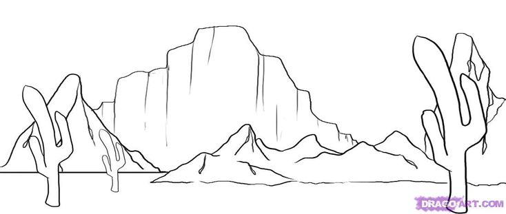 desert coloring pages for preschoolers - photo#11