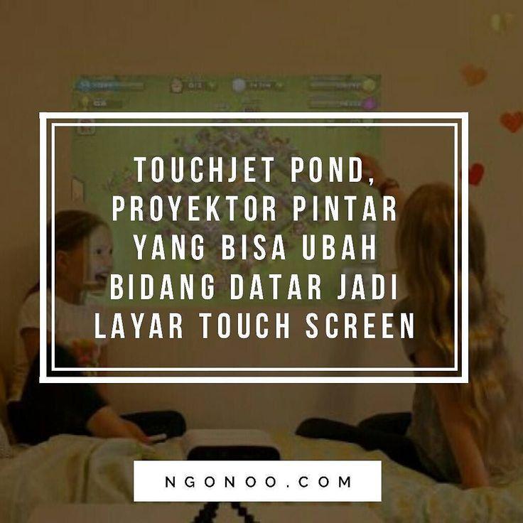 https://ngonoo.com Rahasia pembuat bidang datar jadi touch screen yang digunakan oleh TouchJet Pond berbentuk stylus pen.Dengan S Pen tersebut bro n sest bisa merasakan sensasi main gamesmartphone menggambardi Mac atau mengedit presentasi dilaptop dengan stylus touchscreen di berbagai media seperti meja tembok atau berbagai tempat datar dengan lebar bentangan proyeksi sampai dengan 80 inci.  Proyektor ini berjalan dengan OSAndroid 4.4 KitkatTouchjet Ui!. Dibekali16 GB memori internal SD…