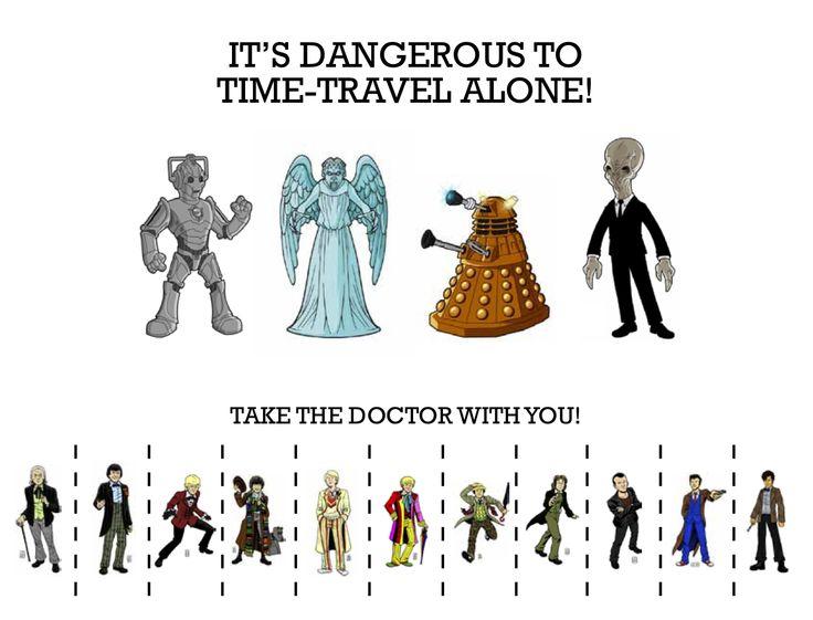 Doctor Tear-Off Poster: Dibs on Ten!