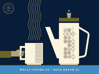 Wells Coffee Co. By Steve Wolf