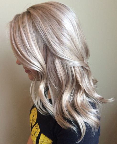 Lovely Mid Length Hair with Gorgeous Color 2016