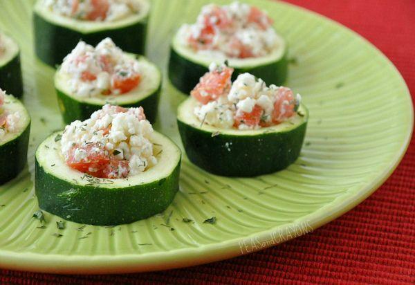 Meat, Tomato, And Mozzarella Stuffed Zucchini Cups Recipe ...