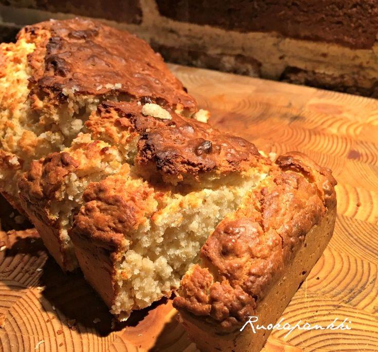 Ruokapankki: Pikaleipä #ruokapankki #ruokablogi #ruoka #leipä #bread #baking #foodie #food