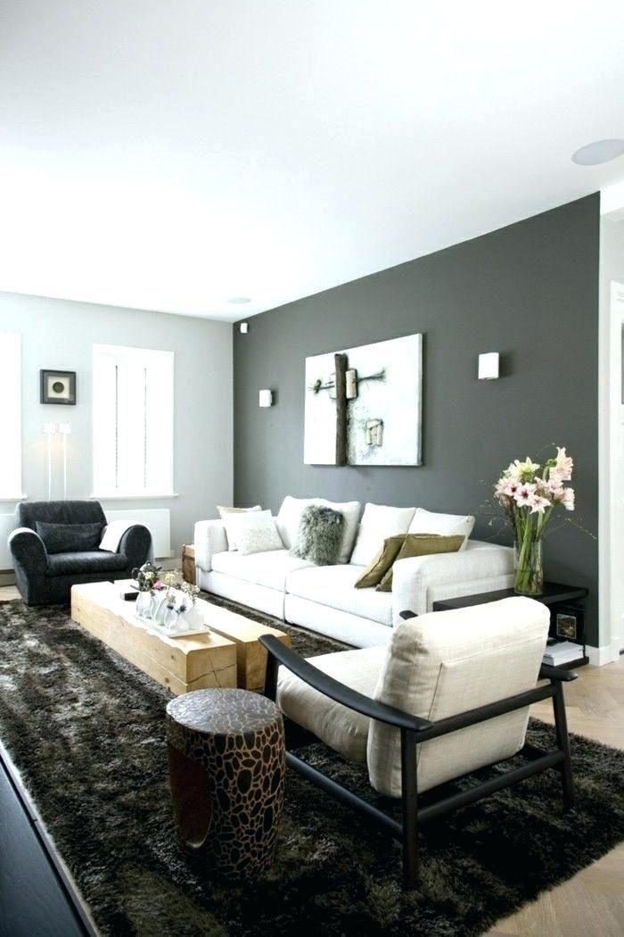 Delightful Decoration Feature Wall Living Room Grey Dark Grey