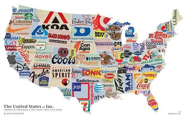 What company is your state known for?