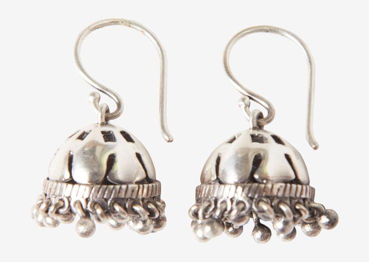 TOAST | Silver Jhumpa Earrings