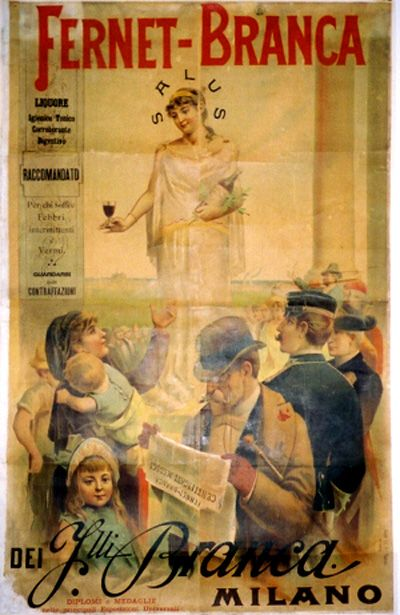 10 Vintage Poster of Italian Liquors