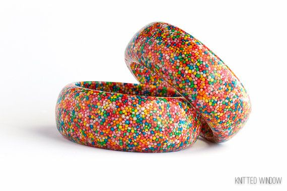 Candy 100's & 1000's Rainbow Sprinkles Bangle Jewellery