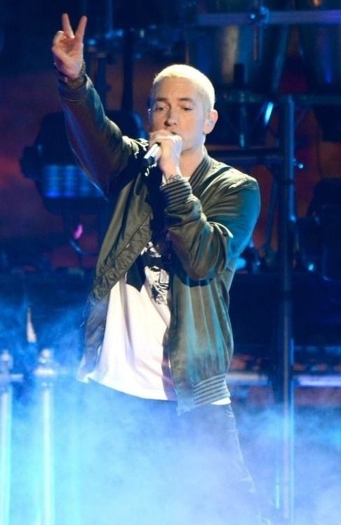 <3 we love you eminem I'm married to you . Man crush