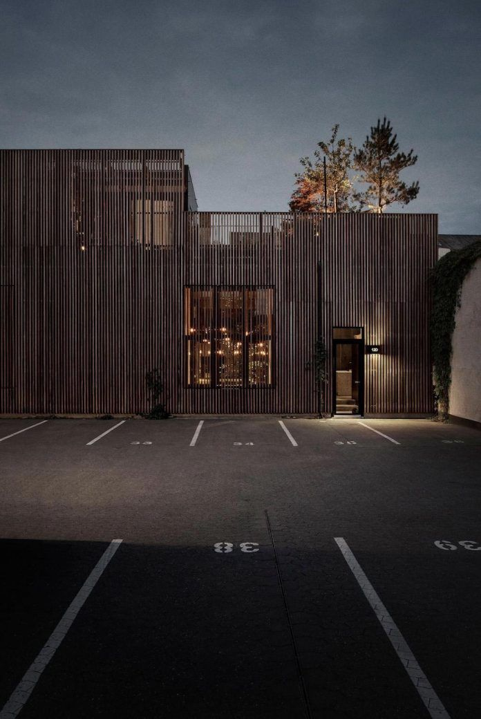 Inspiration evolved from worn-out warehouses and factories with their blackened steel and old bricks - CAANdesign   Architecture and home design blog
